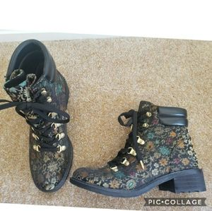 Nwob sam edelman darrah brocade boots 6.5